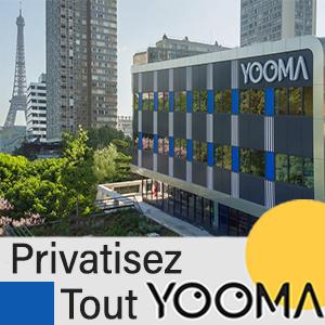 YOOMA - Encart publicitaire pro